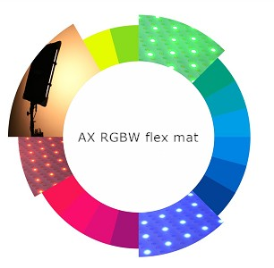 RGBW LED flex mat