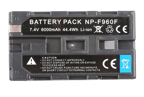 battery for led flexible