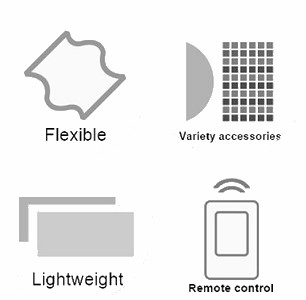 features of flex mat