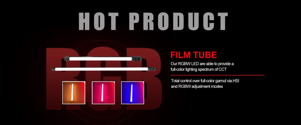 LED Film Light RGBWW light Tube