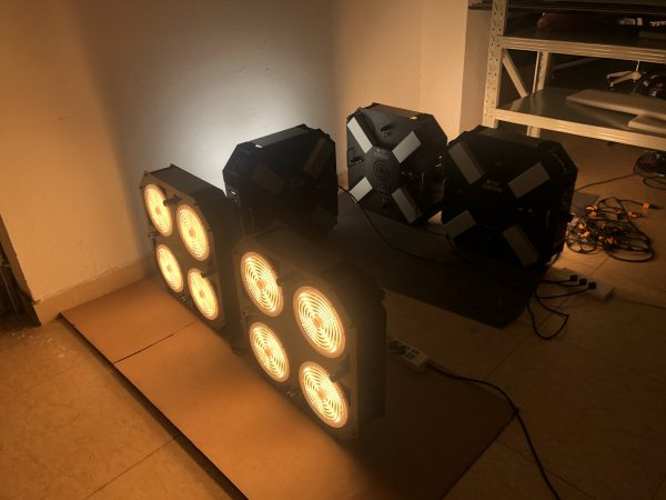 led space light aging test