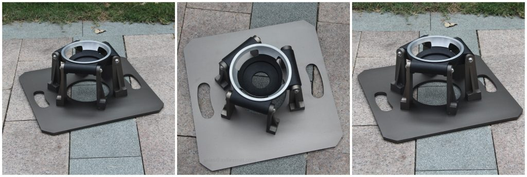 heavy duty 150mm bowl tripod stand