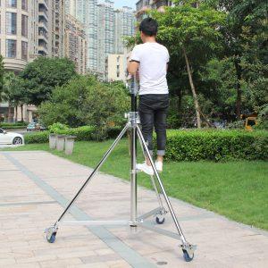 3.8m bearing 80kg film light stand