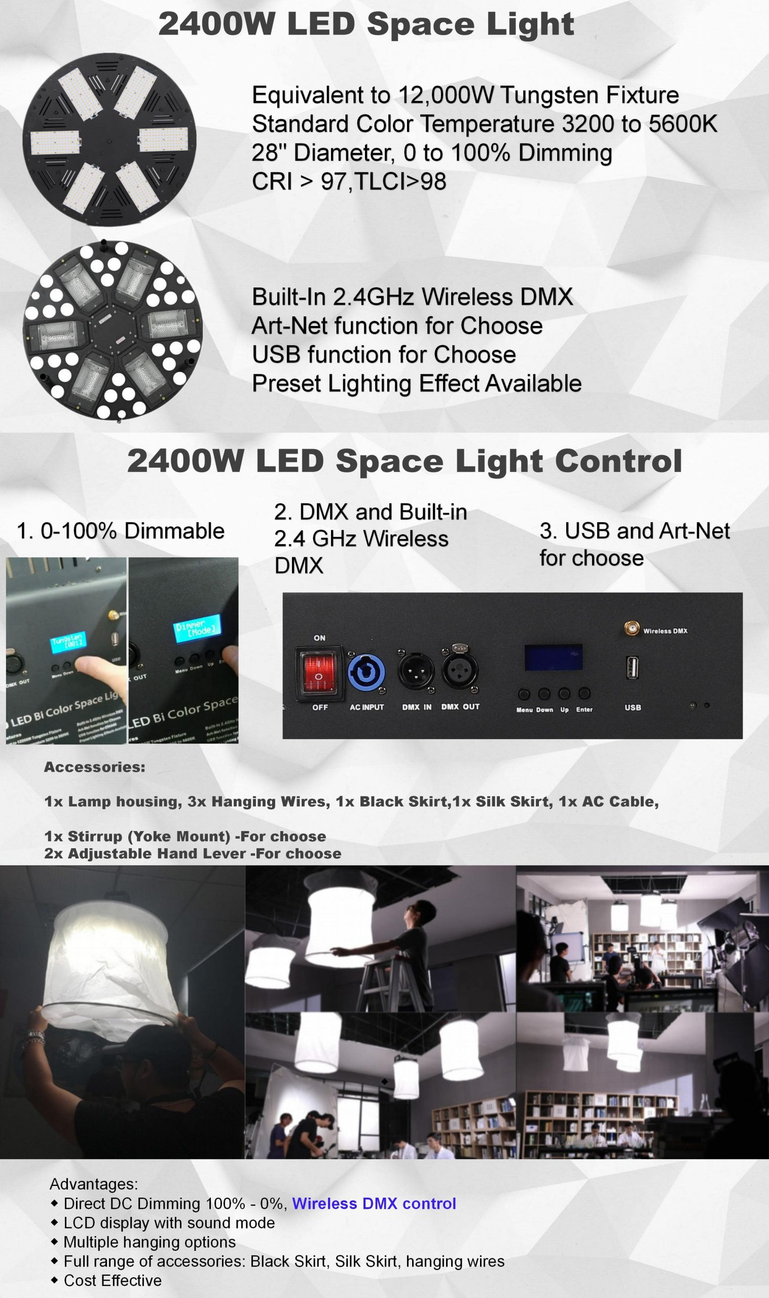 led space light introduction