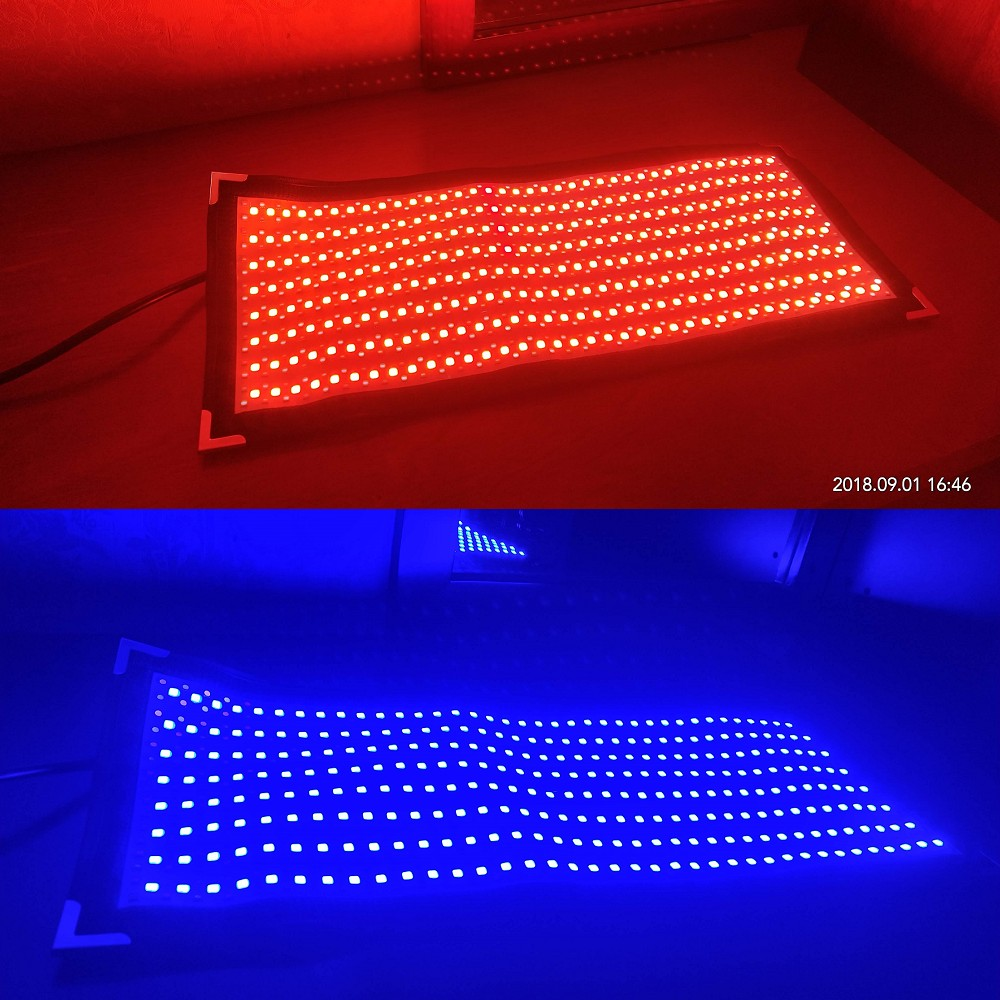 rgbww flexible led mat