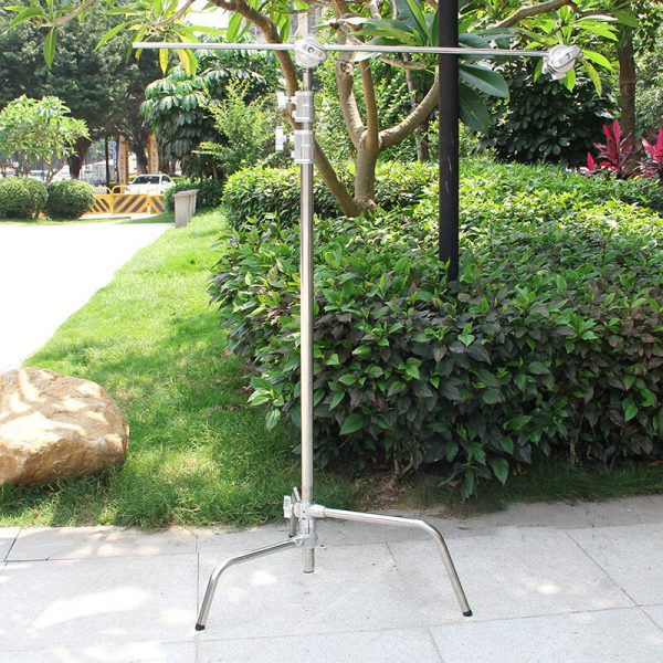 C-Stand with Sliding Leg, Grip Head & Arm