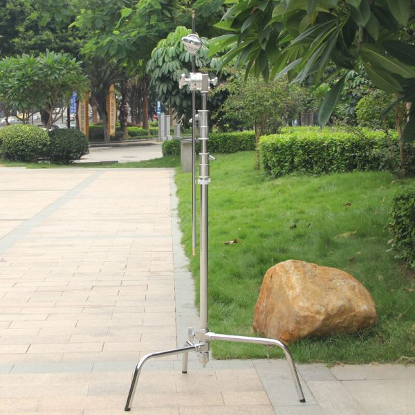 """C-Stand 40"""" Spring Loaded Turtle Base"""