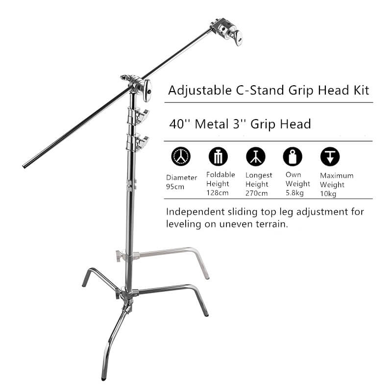 40'' C-Stand Grip Head Kit